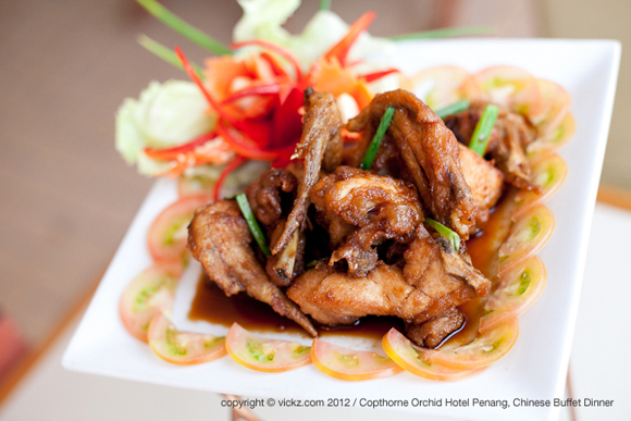 Kung Po Fried Chicken with Cashew Nut