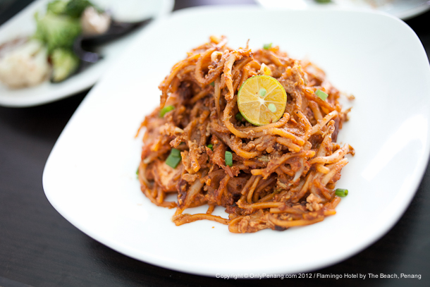 Indian Fried Mee (Mee Goreng)