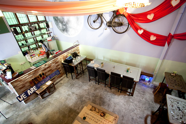 Penang De Moonlight Cafe Interior View