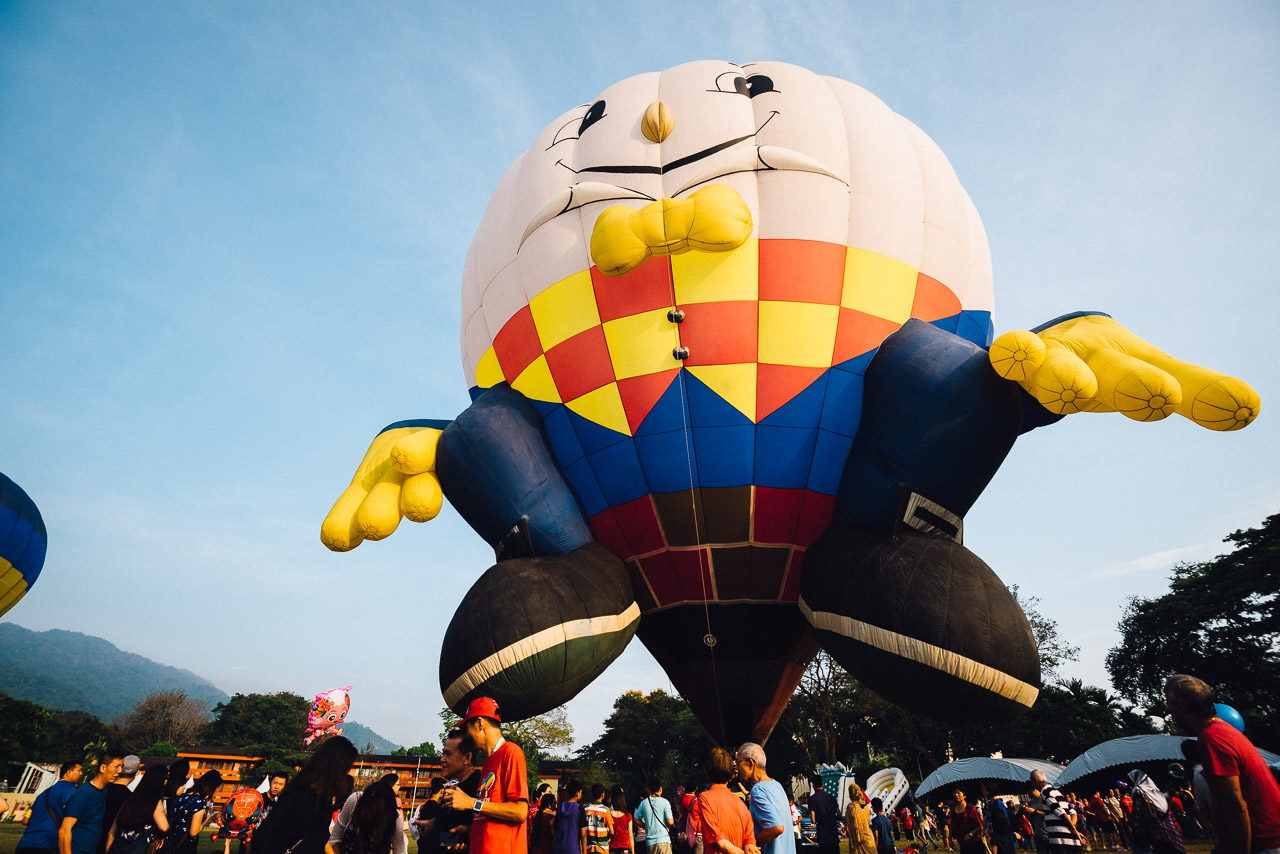 Penang Hot Air Balloon Fiesta 2016 at padang polo, polo ground