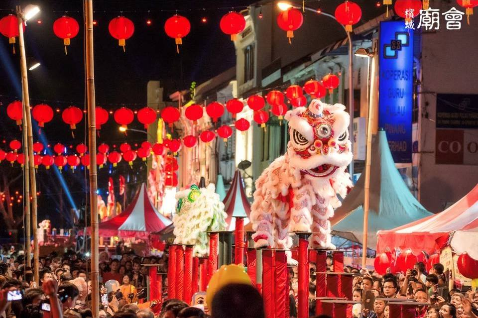 Penang Chinese New Year Celebration 2016 Lion Dance
