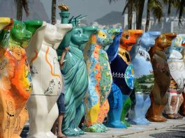 United Buddy Bears in Penang Esplanade