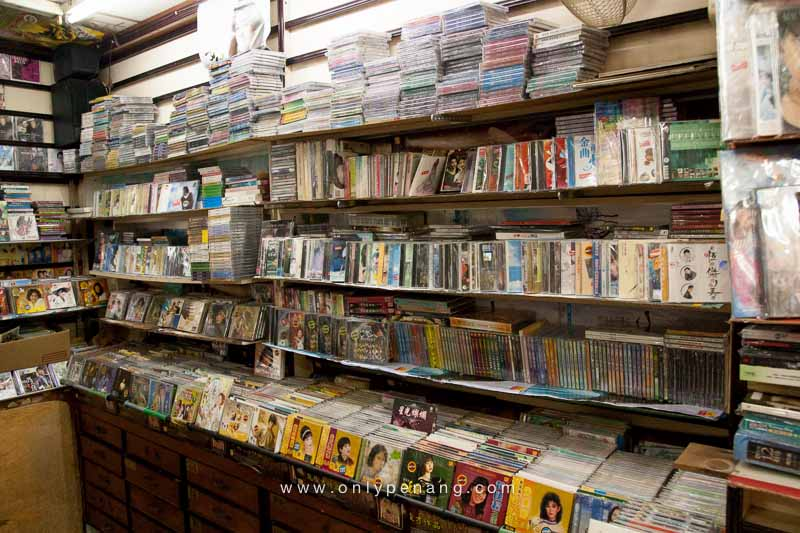 The old cd shop in Bukit Mertajam