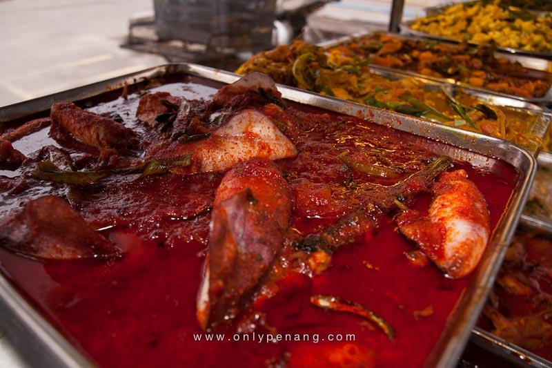 Mamak Food in Kepala Batas Penang Mainland